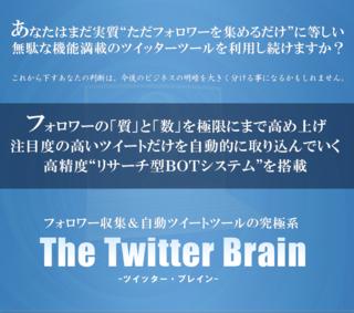 Twitter Brainを購入してはいけない5つの理由(ツイッターブレイン)(佐藤潤)